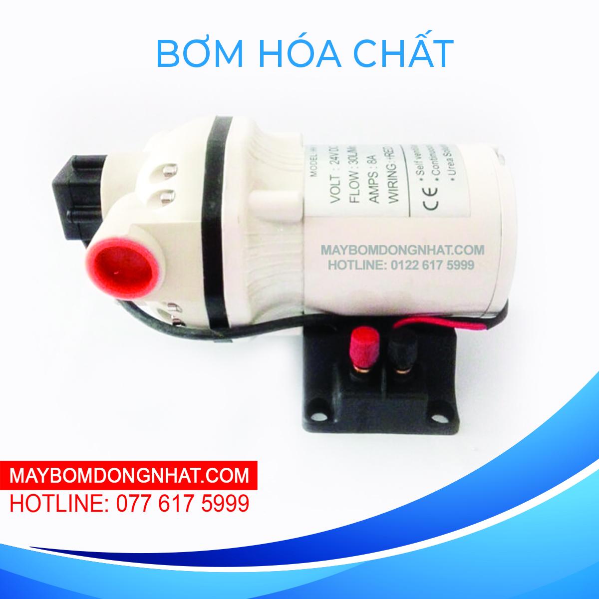 Máy bơm hóa chất SingFlo FL-540 12V 180W 30L