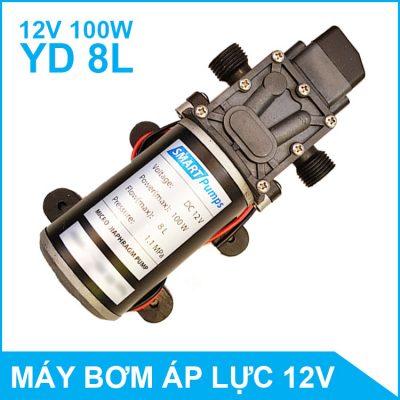 Máy bơm nước mini áp lực SmartPumps 12V 100W 8L