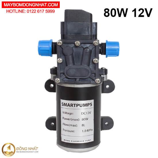 1. Máy bơm nước mini 12V80W8L