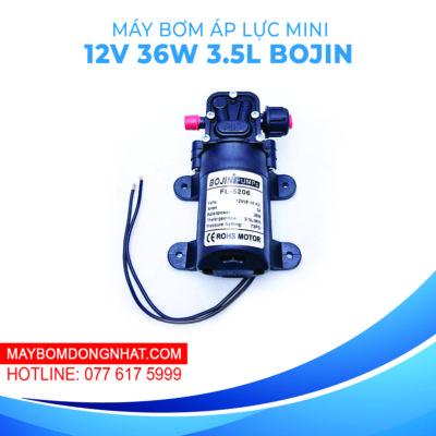 Máy bơm nước mini áp lực BOJIN PUMPS FL-5206 12V 36W 3.5L