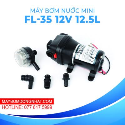 Máy bơm nước mini áp lực Surgeflo FL-35 12V 220W 12.5L
