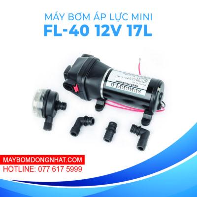 Máy bơm nước mini áp lực Surgeflo FL-40 12V 180W 17L