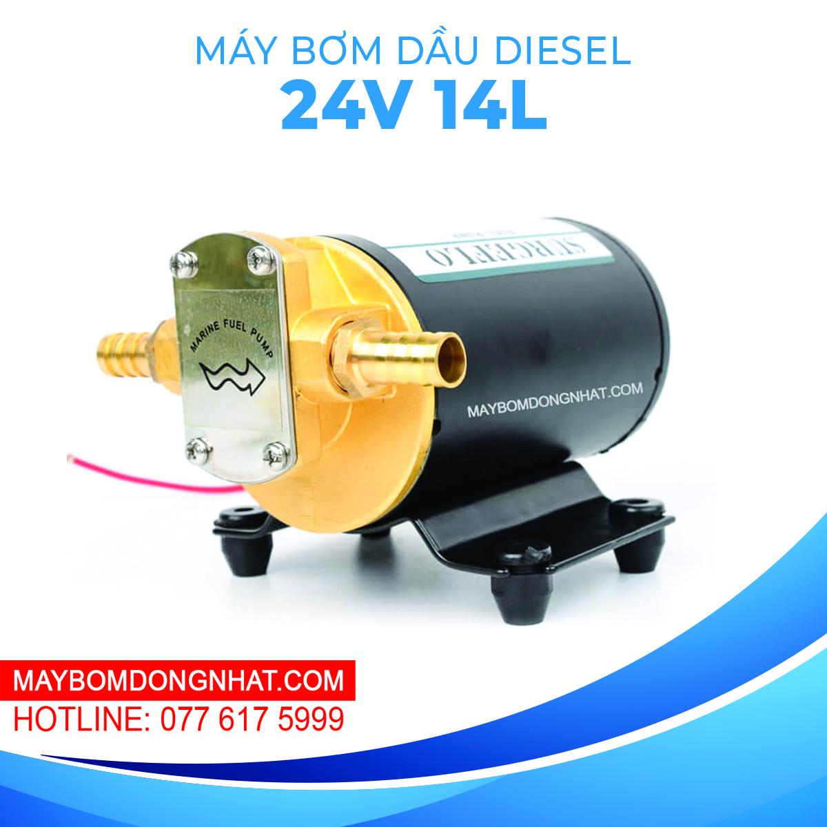 Máy Bơm Dầu Diesel Surgeflo FP-24 24V 48W 14L