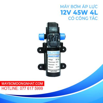 Máy Bơm Nước Mini Áp Lực SmartPumps 12V 45W 4L