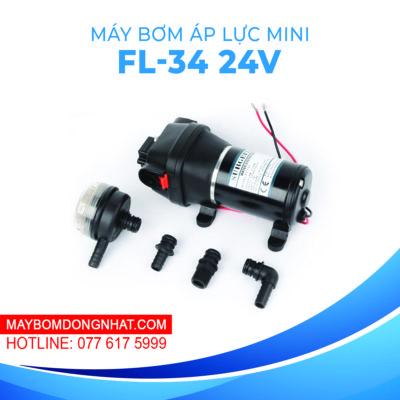 Máy bơm nước mini áp lực Surgeflo FL-34 24V 180W 12.5L