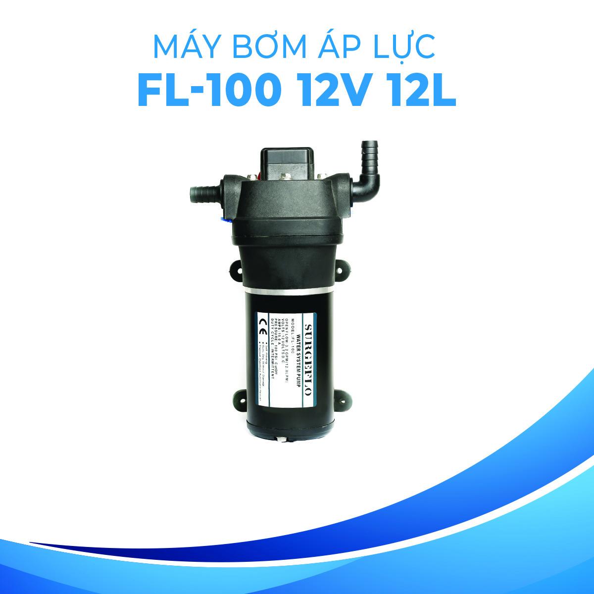 4.Máy bơm áp lực 12V FL-100 A2