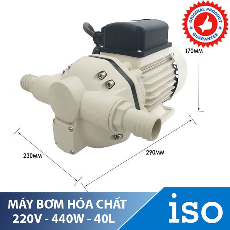 may bom hoa chat singflo 220v