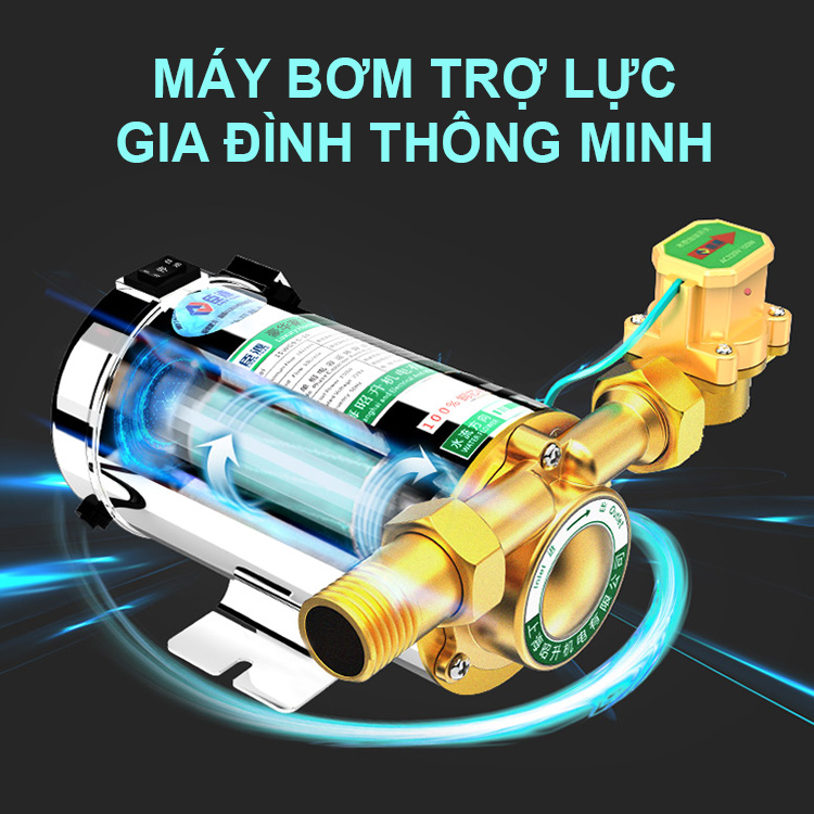 may bom tro luc gia dinh