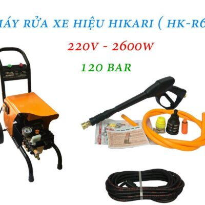 Máy bơm xịt rửa áp lực cao Hikari HK – R6 220V 2.6KW