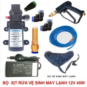 bo xit rua ve sinh may lanh 12v 60w option 1