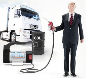bộ máy bơm xăng dầu nhớt 12v 60lp