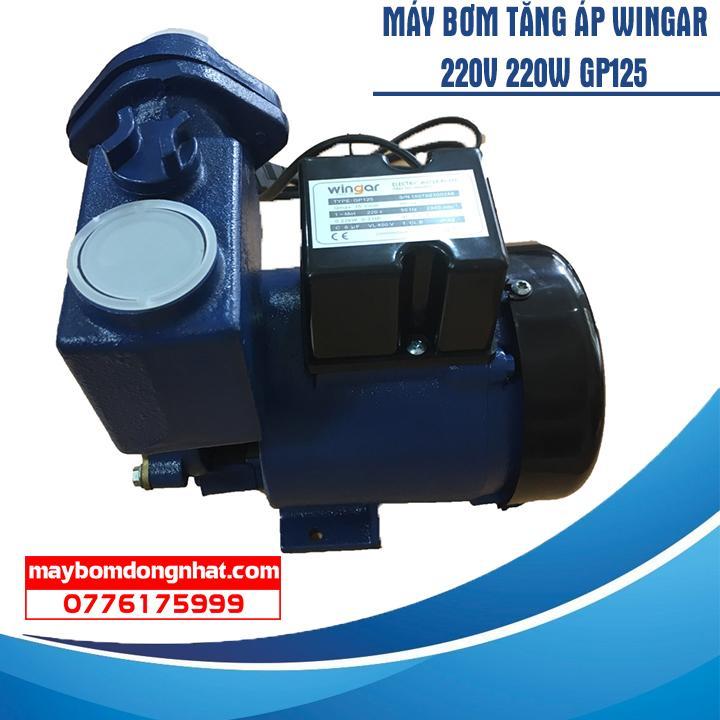 Máy bơm tăng áp Wingar GP125 220V 220W 35L