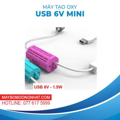 MÁY TẠO OXY USB 6V MINI