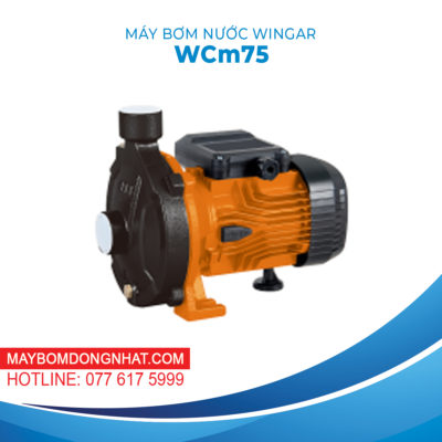 MÁY BƠM NƯỚC WINGAR – WCm75 220V 1HP 100L/P