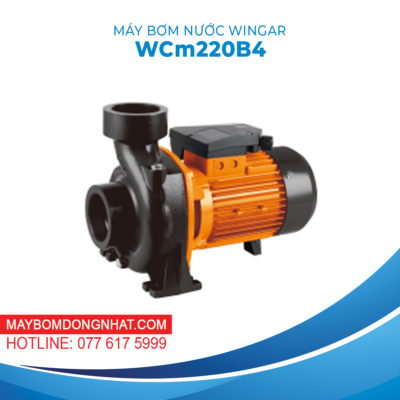 MÁY BƠM NƯỚC WINGAR – WCm220B4 220V 3HP 1100L/P