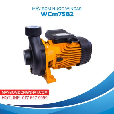 MÁY BƠM NƯỚC WINGAR – WCm75B2 220V 1HP 500L/P
