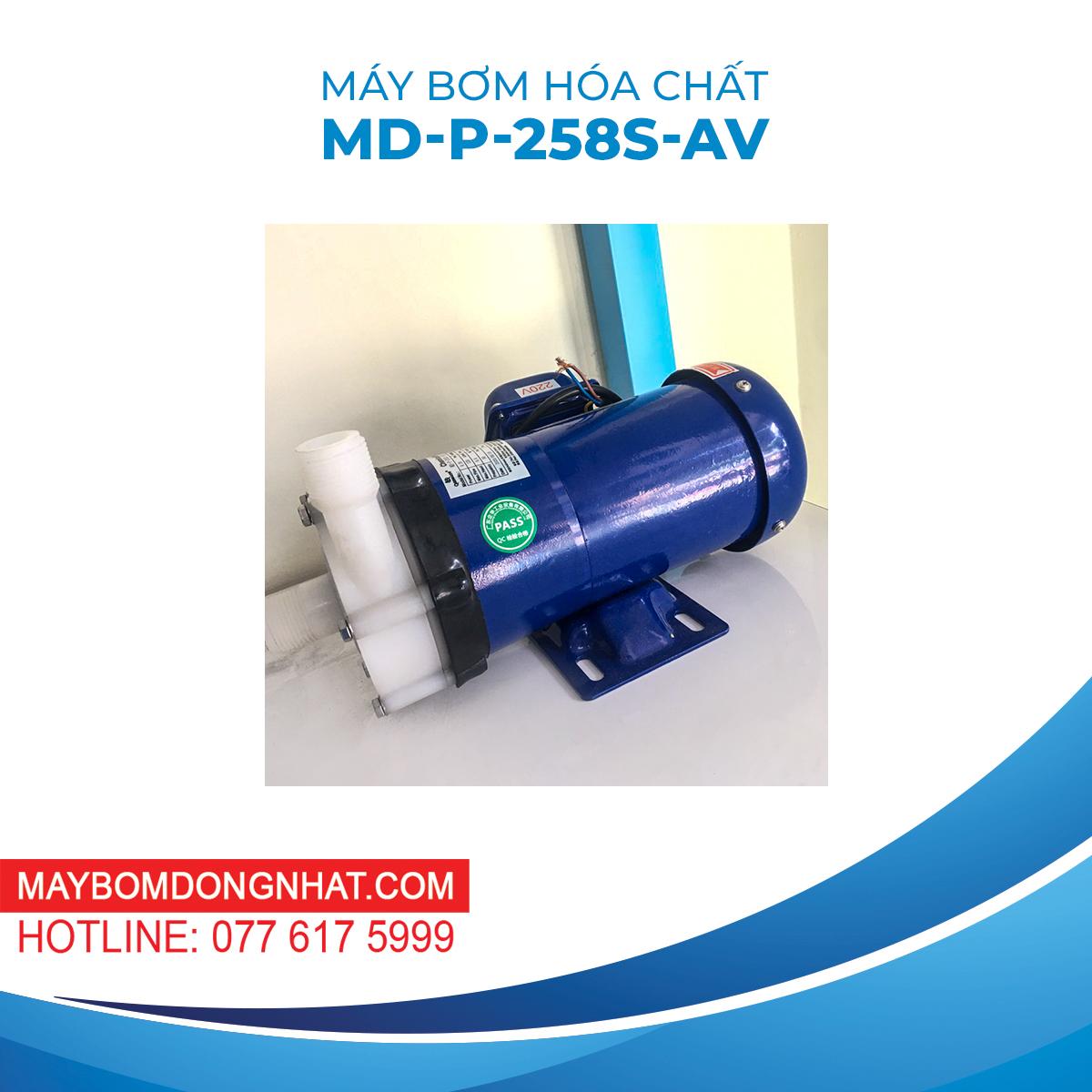 Máy Bơm Hóa Chất MD-P-258S-AV 220V 260W 135L/P
