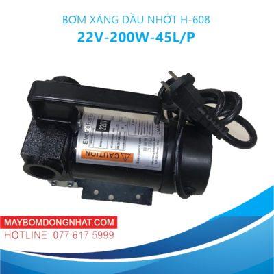 Máy bơm xăng dầu nhớt 220V-200W-45L/P