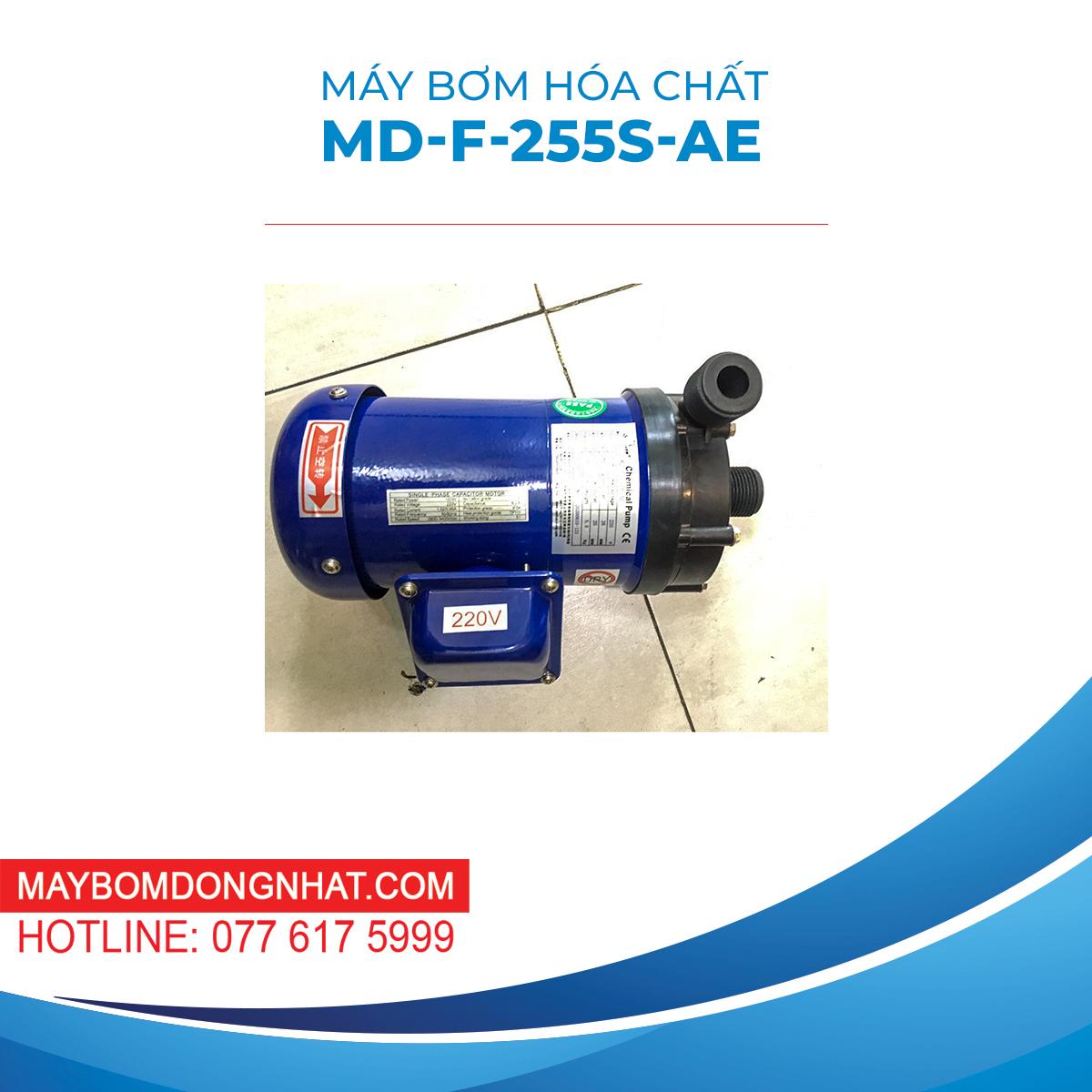 Máy Bơm Hóa Chất MD-F-255S-AE  220V 90W 60L/P