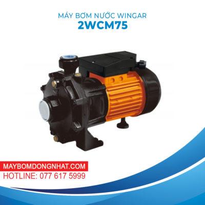 MÁY BƠM NƯỚC WINGAR – 2WCM75 220V 1HP 100L/P