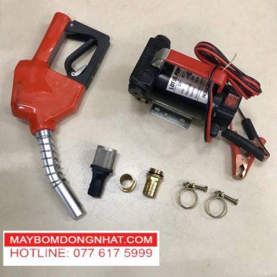 Bộ máy bơm Xăng dầu nhớt 24v 150w-40l/P