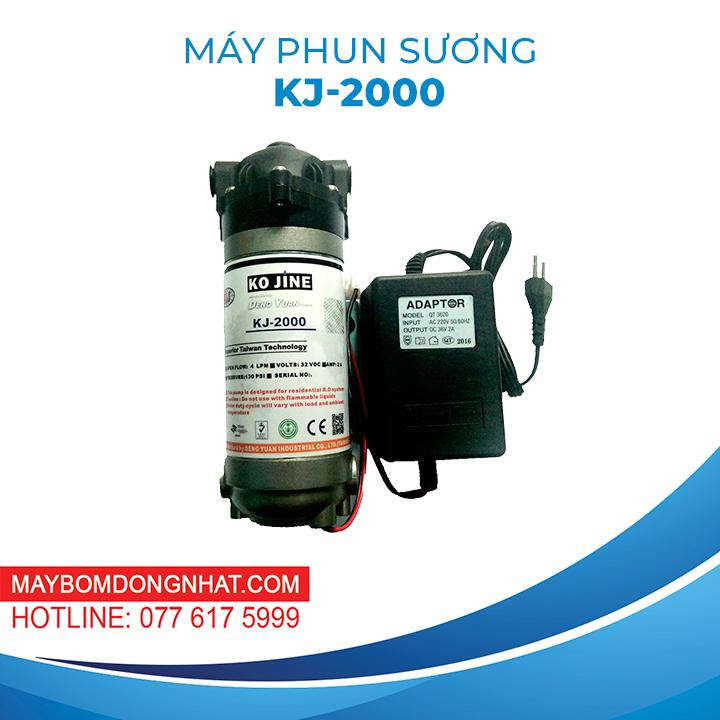 MÁY PHUN SƯƠNG KJ-2000