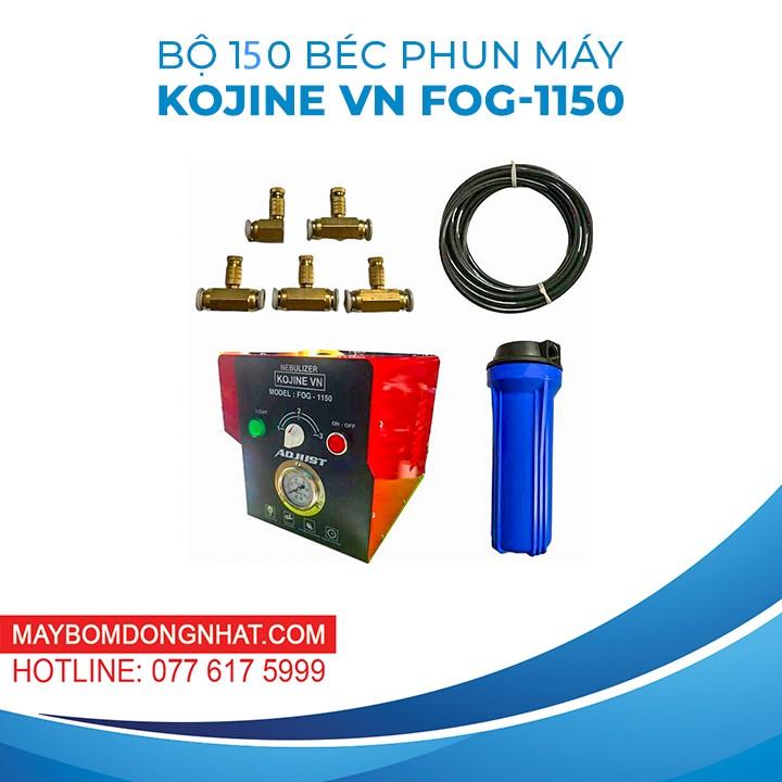 TRỌN BỘ PHUN SƯƠNG 150 BÉC KJ- FOG1150