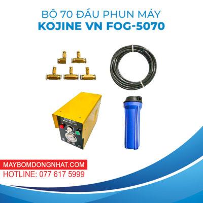 TRỌN BỘ PHUN SƯƠNG 70 BÉC KJ- FOG 5070