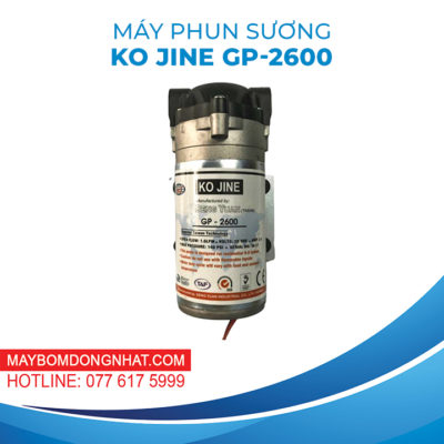 MÁY PHUN SƯƠNG GP-2600