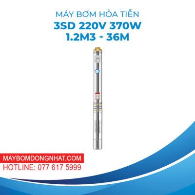 MÁY BƠM HỎA TIỄN 3SD 220V 370W 1.2M3 – 36M